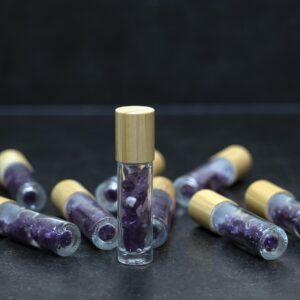 Oil Bottle Amethyst